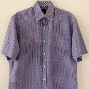 Tailorbyrd Collection SS Shirt Size Large Plaid